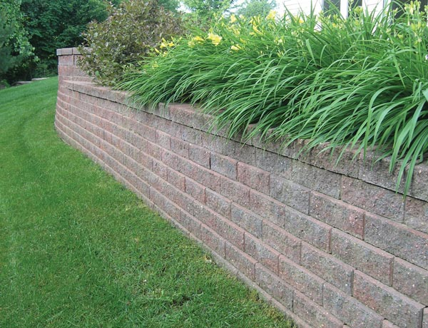 VERSA-LOK Accent retaining wall system