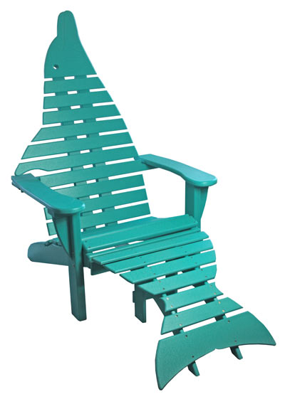 Dolphin Adirondack Chair