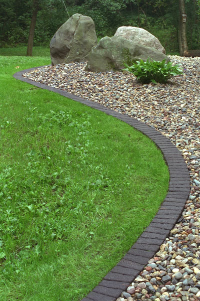 Installation Steps For Handy Edge Landscape Edging Patio