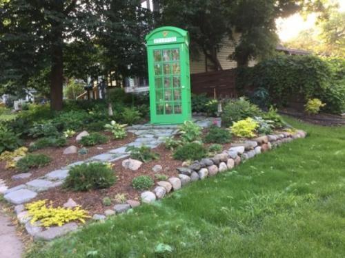 Irish Phone Booth on Hill