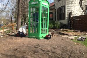 Irish Phone Booth Preparation