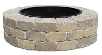 Ledgestone Fire Ring Kit