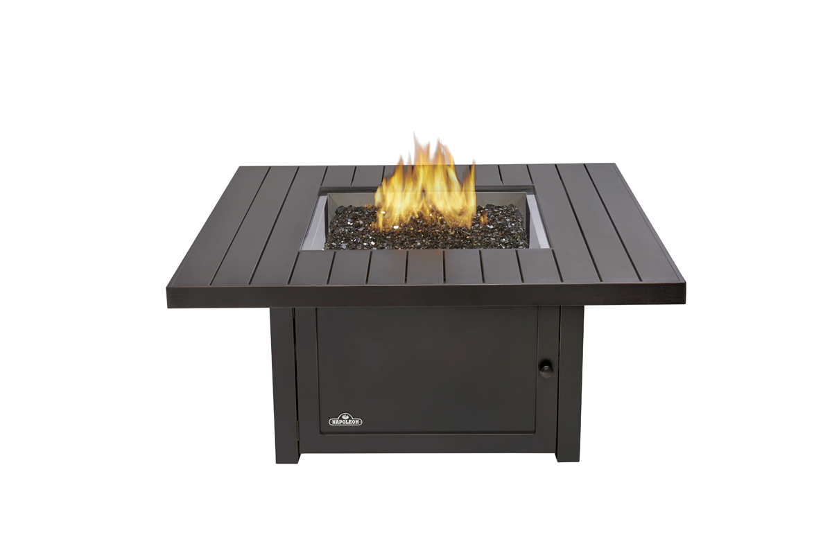 Napoleon Gourmet Grills - Square Outdoor Fire Table