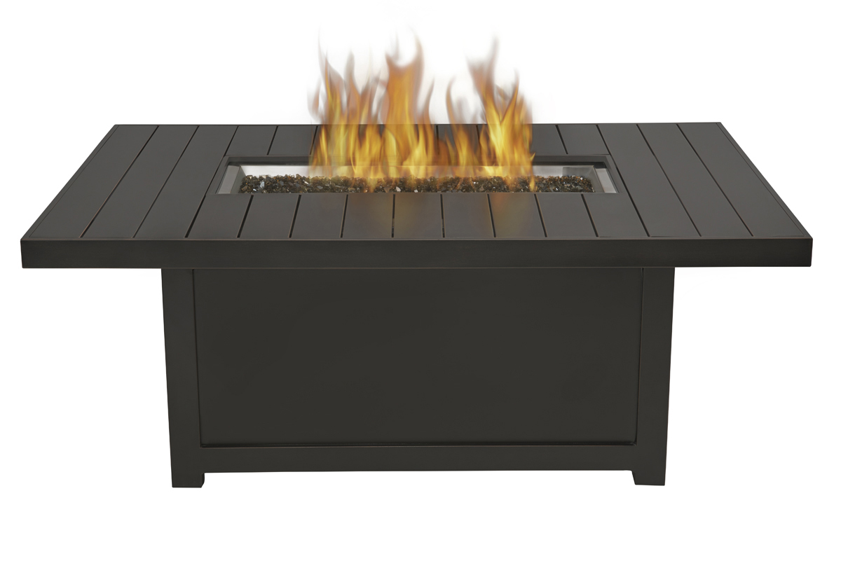 Napoleon Gourmet Grills - Rectangular Outdoor Fire Table