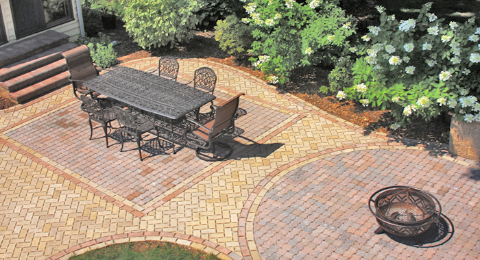 Permeable Paver Patio ... - Permeable Pavers Patio Town