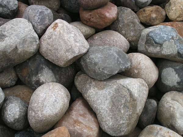 Assortment of River Boulders