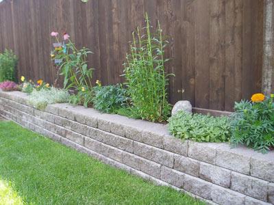 Garden Retaining Wall Ideas