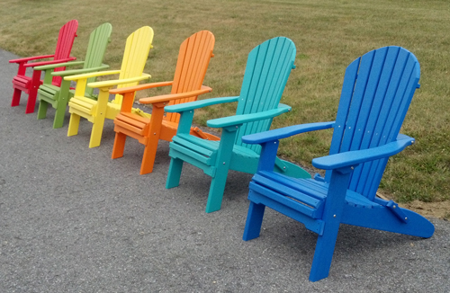Comfort Craft Outdoor Furniture - In Vibrant Colors!