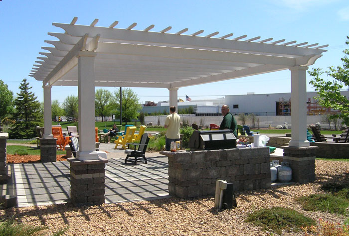 A pergola is the perfect addition to your patio, pool or spa.