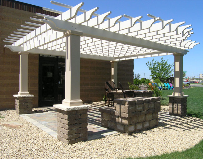 A pergola is the perfect addition to your patio, pool or spa. - Attractive Fiberglass Pergolas Patio Town