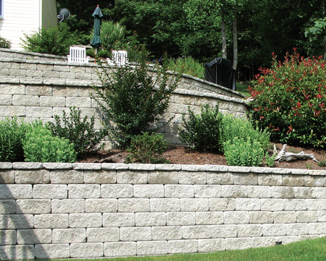 VERSA-LOK Square Foot residential retaining wall