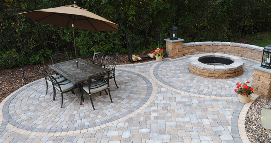 Circlestone paver patio