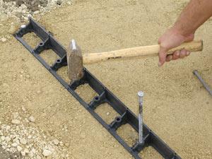 Installing Edging