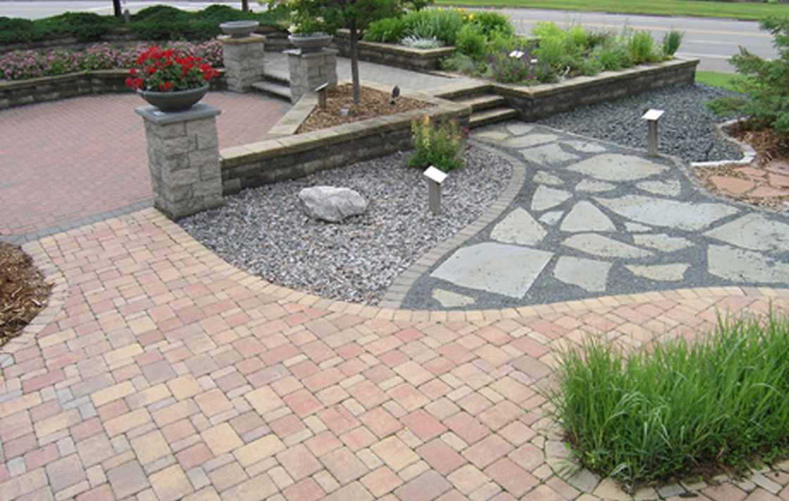 Concrete pavers, natural stone, retaining walls, permeable pavers — which products are right for your project?