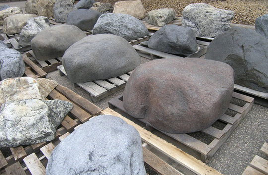 Artificial Boulders from Patio Town