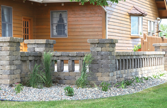Ledgestone Wall Units