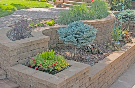 Versa Lok Retaining Wall Systems Patio Town