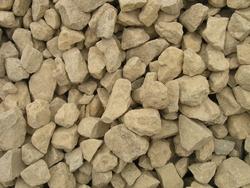 Bulk landscaping rock and dirt